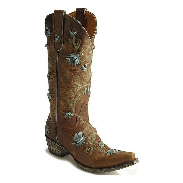 Ab's Wedding Fav's / Old Gringo Abby Rose Cowboy Boots found on Polyvore