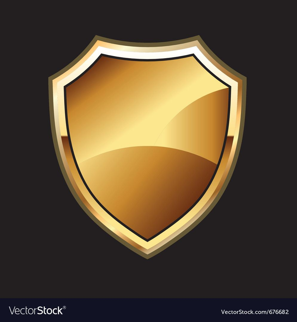 Round Shield Gold Download A Free Preview Or High Quality Adobe Illustrator Ai Eps Pdf And High Reso Shield Vector Vector Clipart Logo Design Free Templates