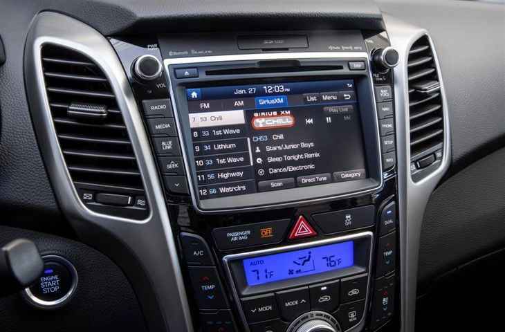 The 2016 Elantra GT w/ the Tech Package now includes