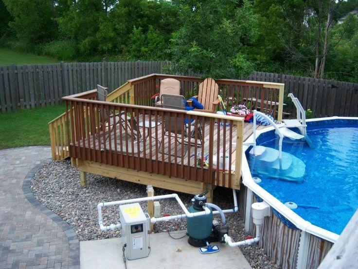 Image result for pallet pool deck deck pallet pool