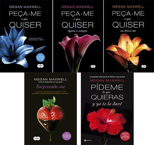 Megan Maxwell Peca Me O Que Quiser 1 A 4 Livros De Romance