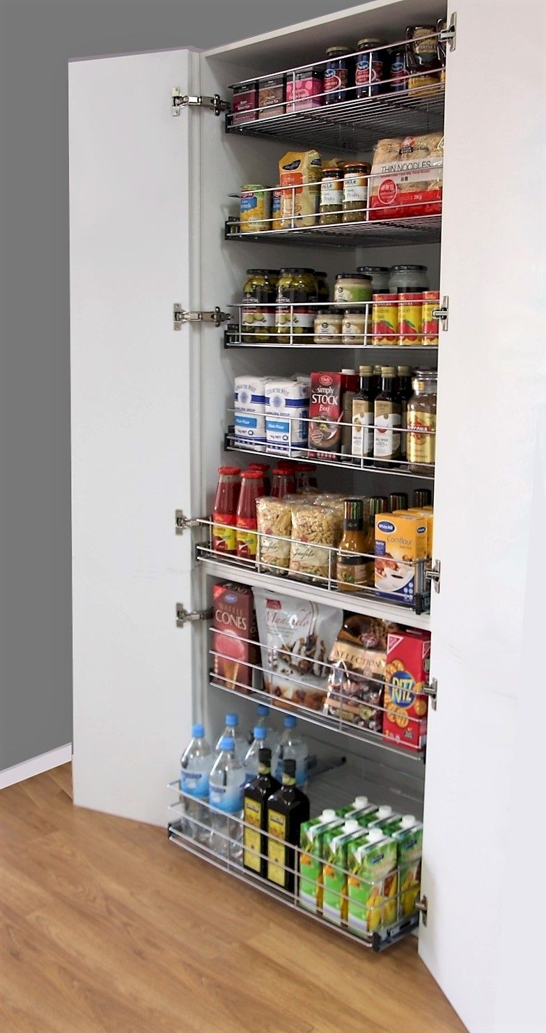Pull Out Pantry For New And Existing Kitchen Cabinets Tansel Storage Pull Out Pantry Pantry Wall Pantry Design