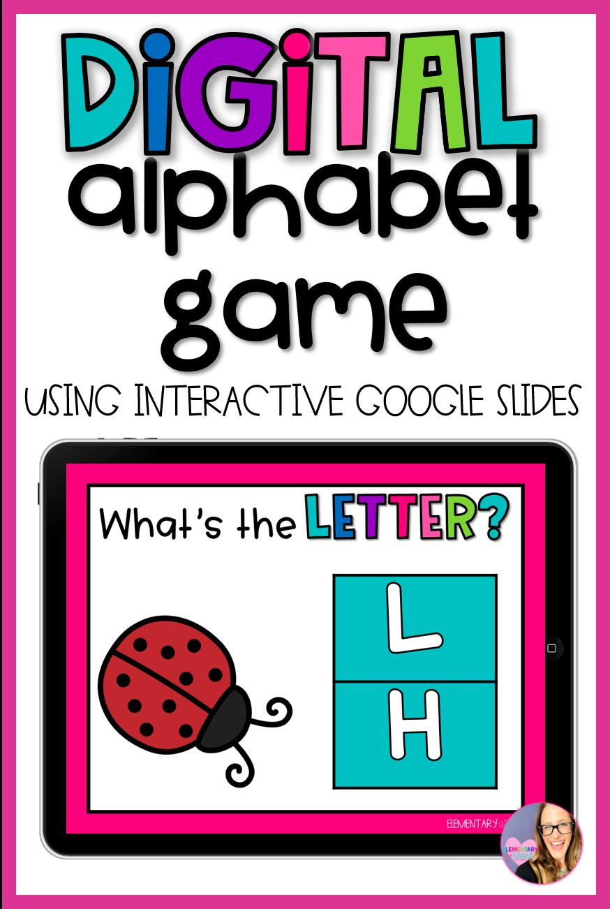 Digital Alphabet Game in 2020 Digital alphabet, Alphabet