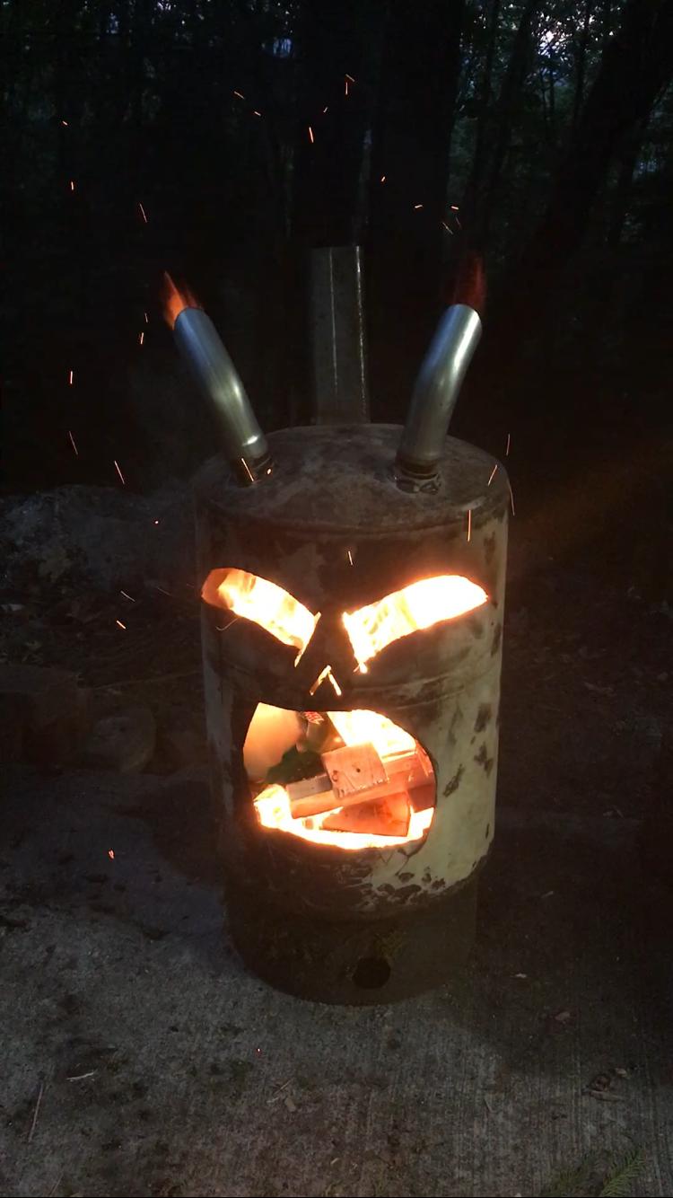 Stunning Burn barrel More