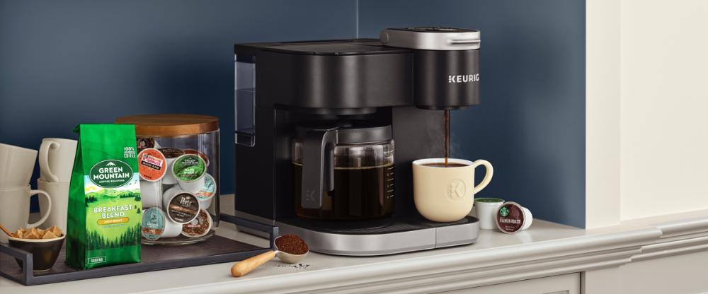 KDuo™ Single Serve & Carafe Coffee Maker Coffee maker