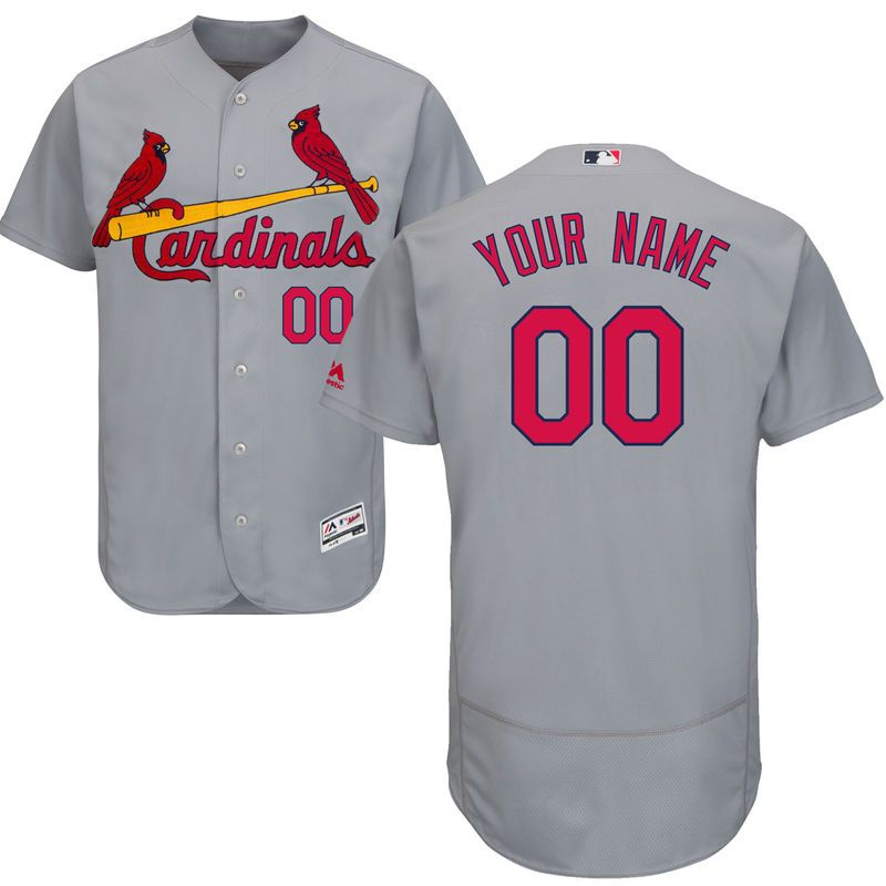 2e245607 St. Louis Cardinals Majestic Road Flex Base Authentic Collection ...
