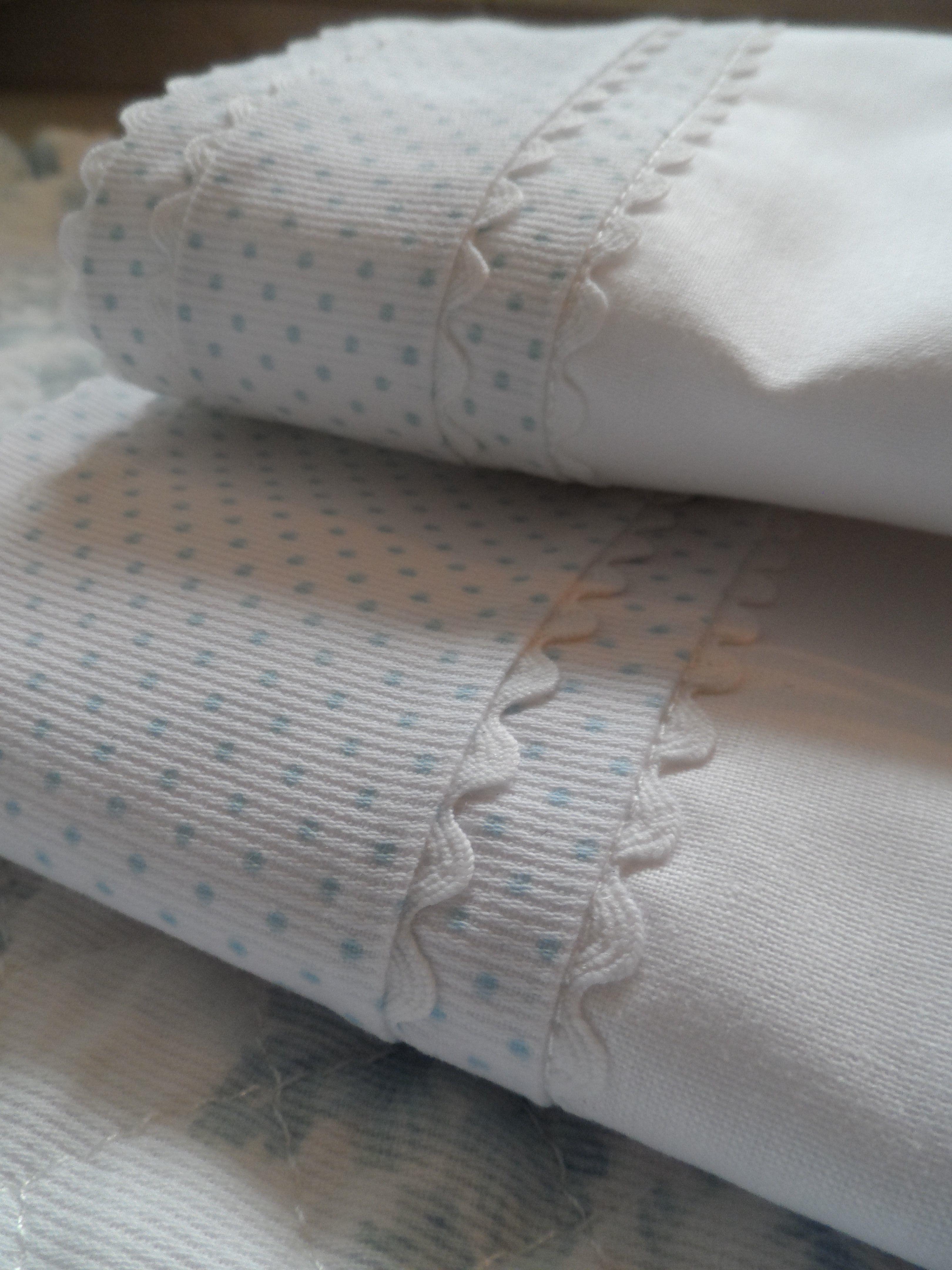 sábanas para cuna modelo doble piquillo se hacen de la medida que ...