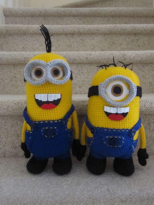Crochet Corner: Minion 2 | Häkeln, Handarbeiten und Minions