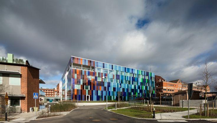 Strålbehandlingsbyggnaden, Skånes Universitetssjukhus. White arkitekter.