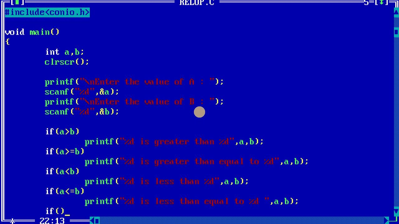 Programming In C Operators Practice Arithmetic Relational And Logical Arithmetic Logic Practice