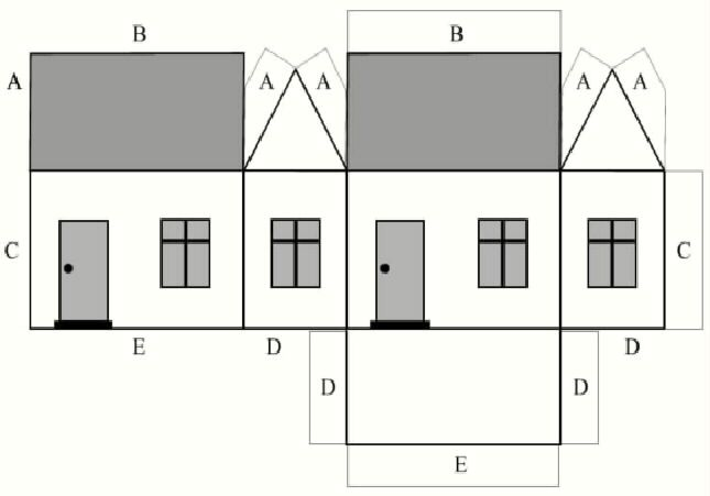 See 8 Best Images Of Printable House Templates. House Templates Printable Paper  House Template Haunted House Paper Template House Templates Printable Free  ...