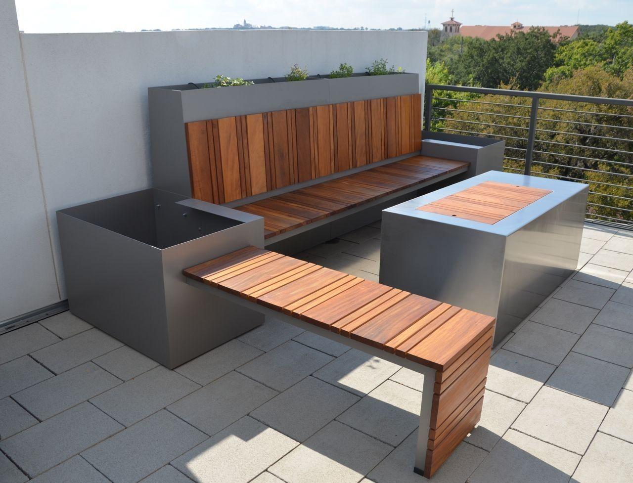 Para la banca y pescera jardin pinterest mobiliario for Mobiliario jardin terraza