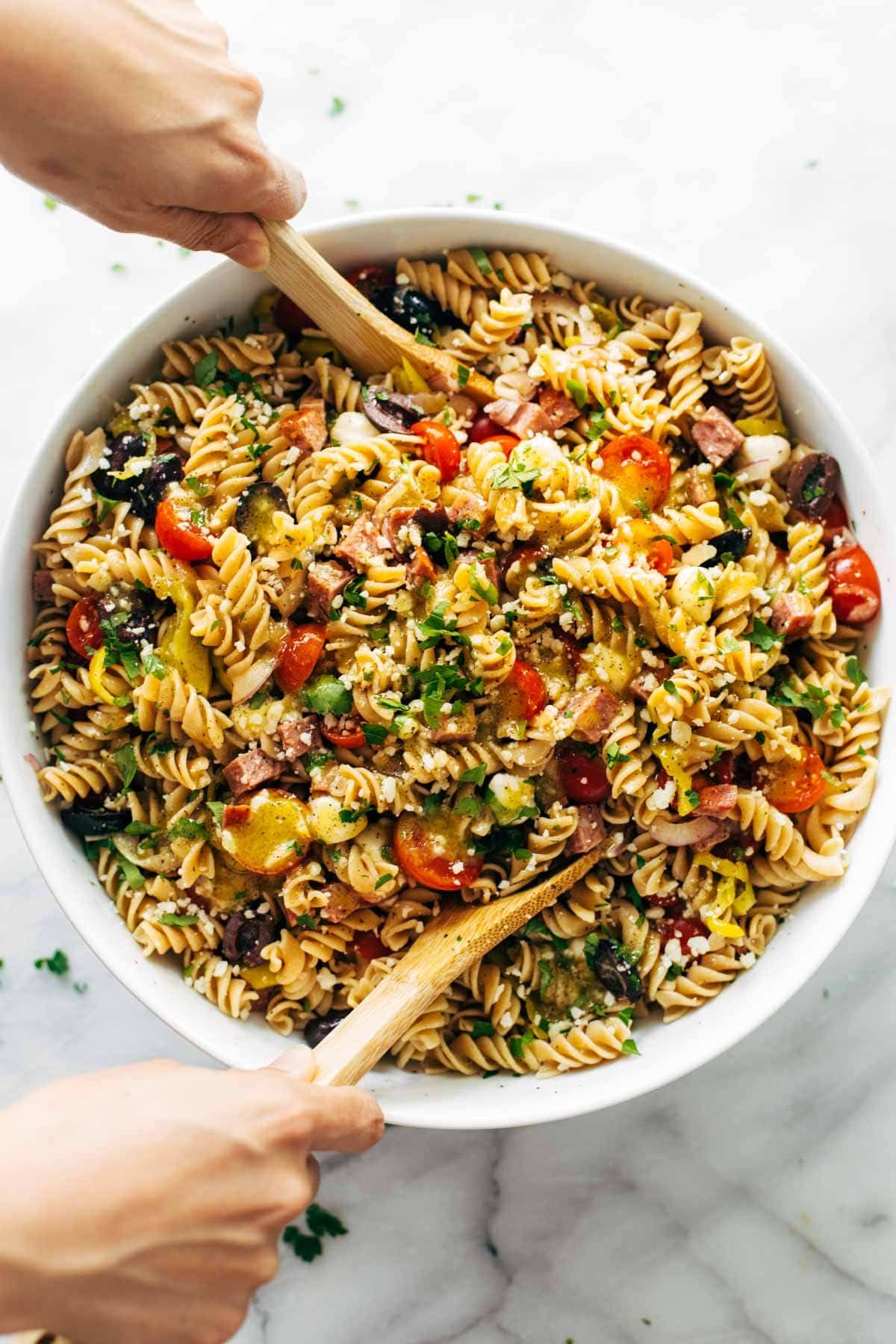 The Best Easy Italian Pasta Salad Recipe Pasta Salad Italian