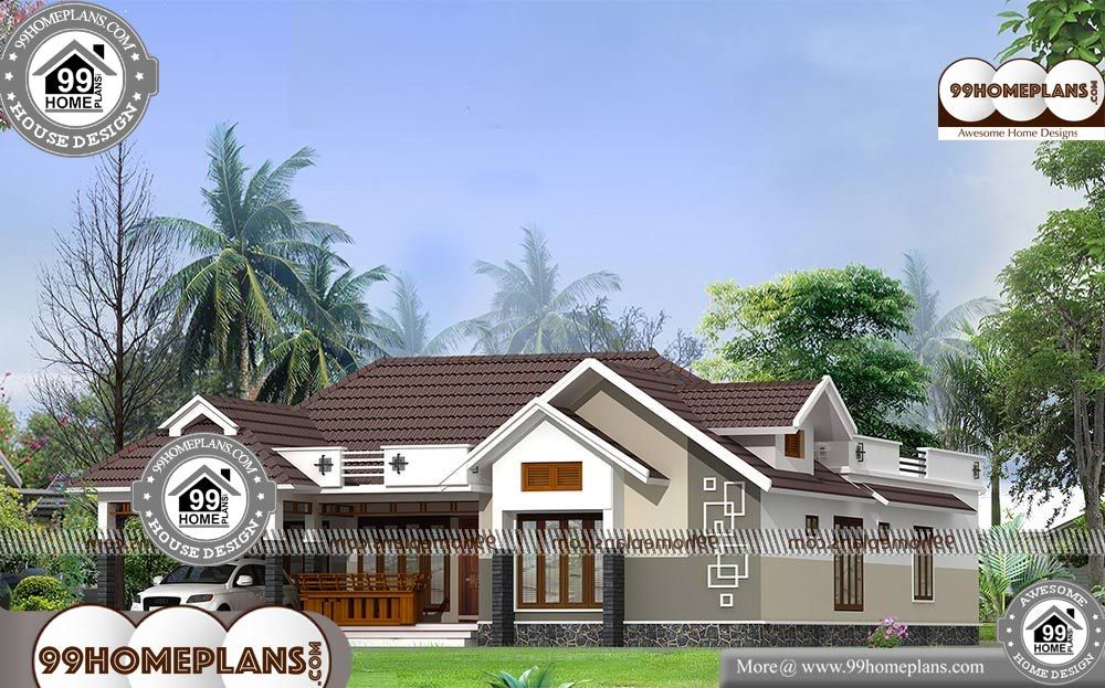 Pin By 99homeplans Com On Villas Modern House Plans Kerala House Design Craftsman House Plans