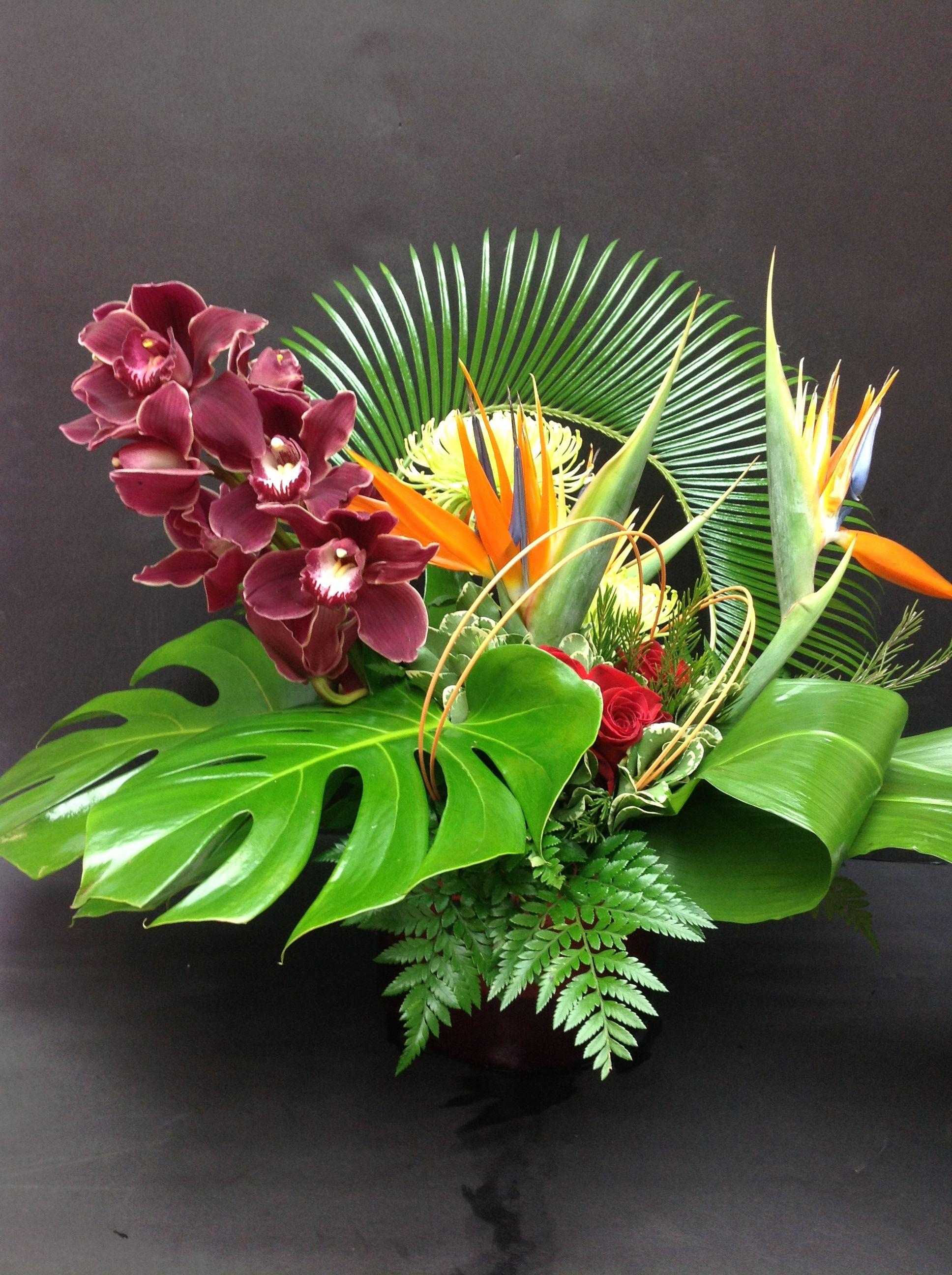 Экзотические букеты цветов картинки