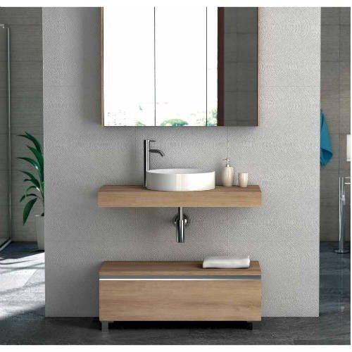 Mueble auxiliar de baño LIP roble en 2020 | Muebles ...