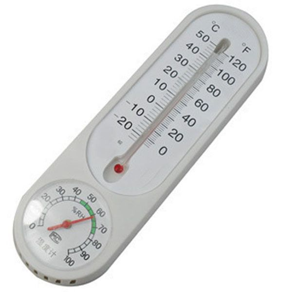 1p Hanging Outdoor Indoor Household Thermometer Temp Mercury
