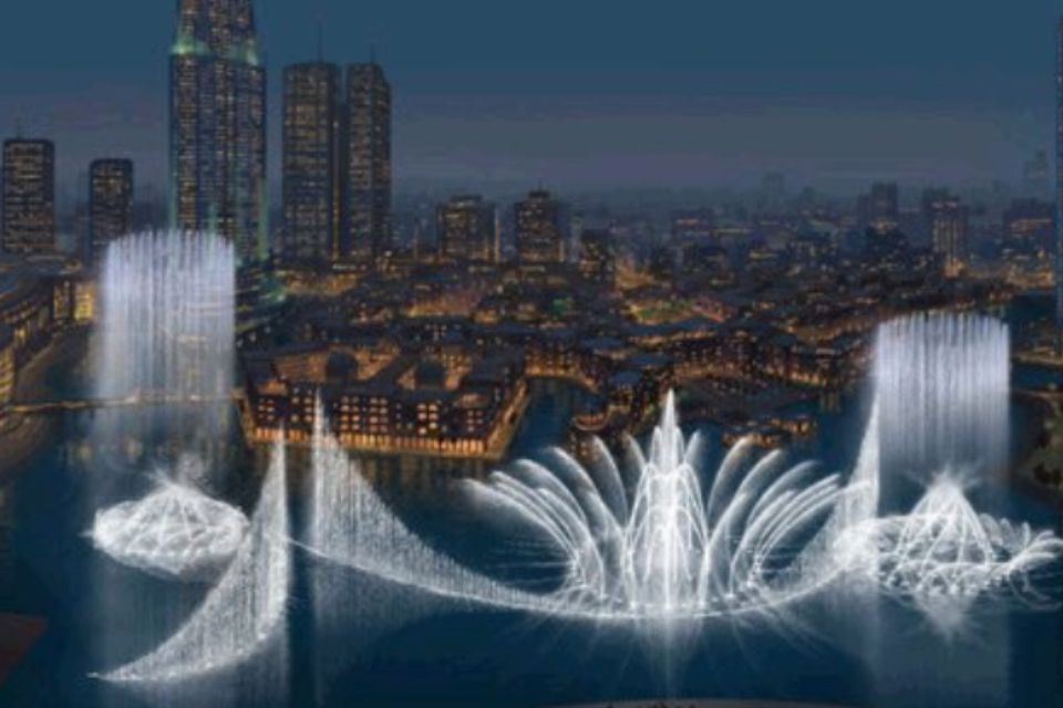 Dubai Water Show Dubai Tour Dubai Dubai Attractions