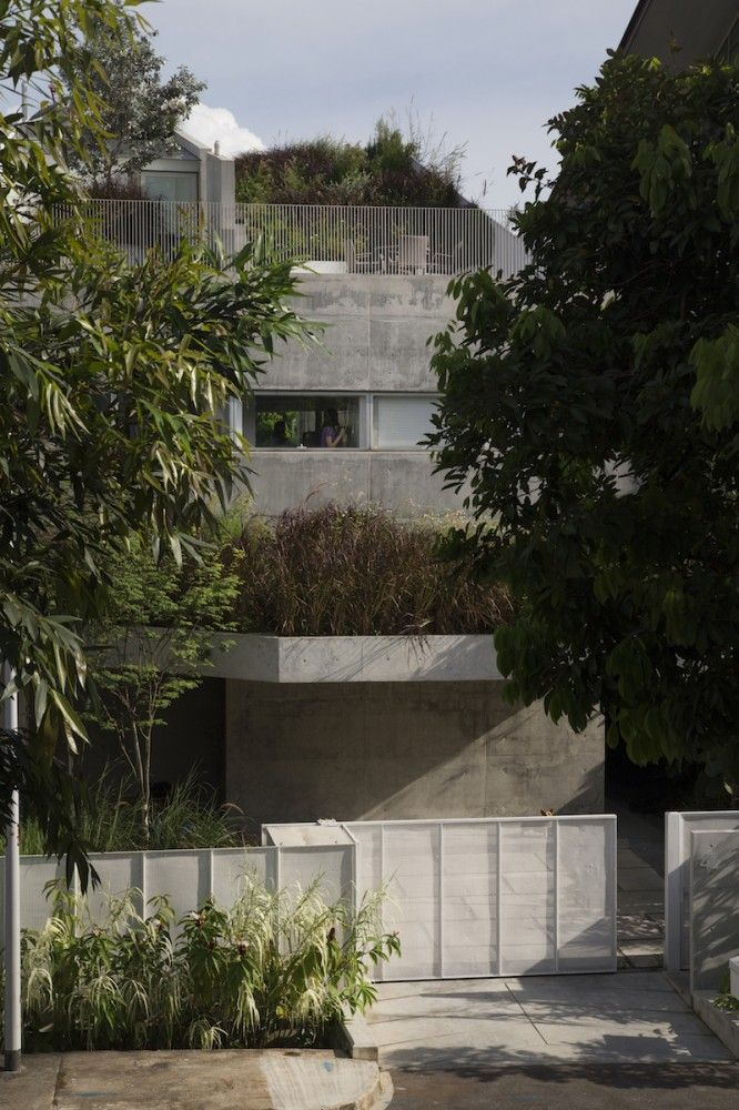 Superb Gallery Of Terrace House / Formwerkz Architects   7 Nice Ideas