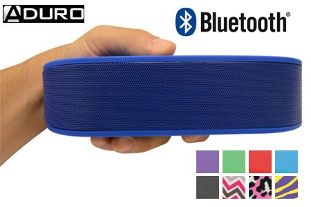 Aduro BeeBop Portable Wireless Bluetooth Speaker with Built in Speakerphone