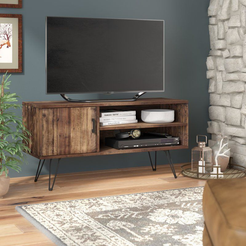 "Rustic Bedroom Tv Chest Bedroom Tv Stand Bedroom Tv: Barclee Media TV Stand For TVs Up To 58"" En 2019"