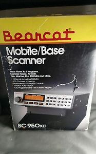 NEW OLD STOCK Uniden Bearcat BC950XLT Scanner - Free