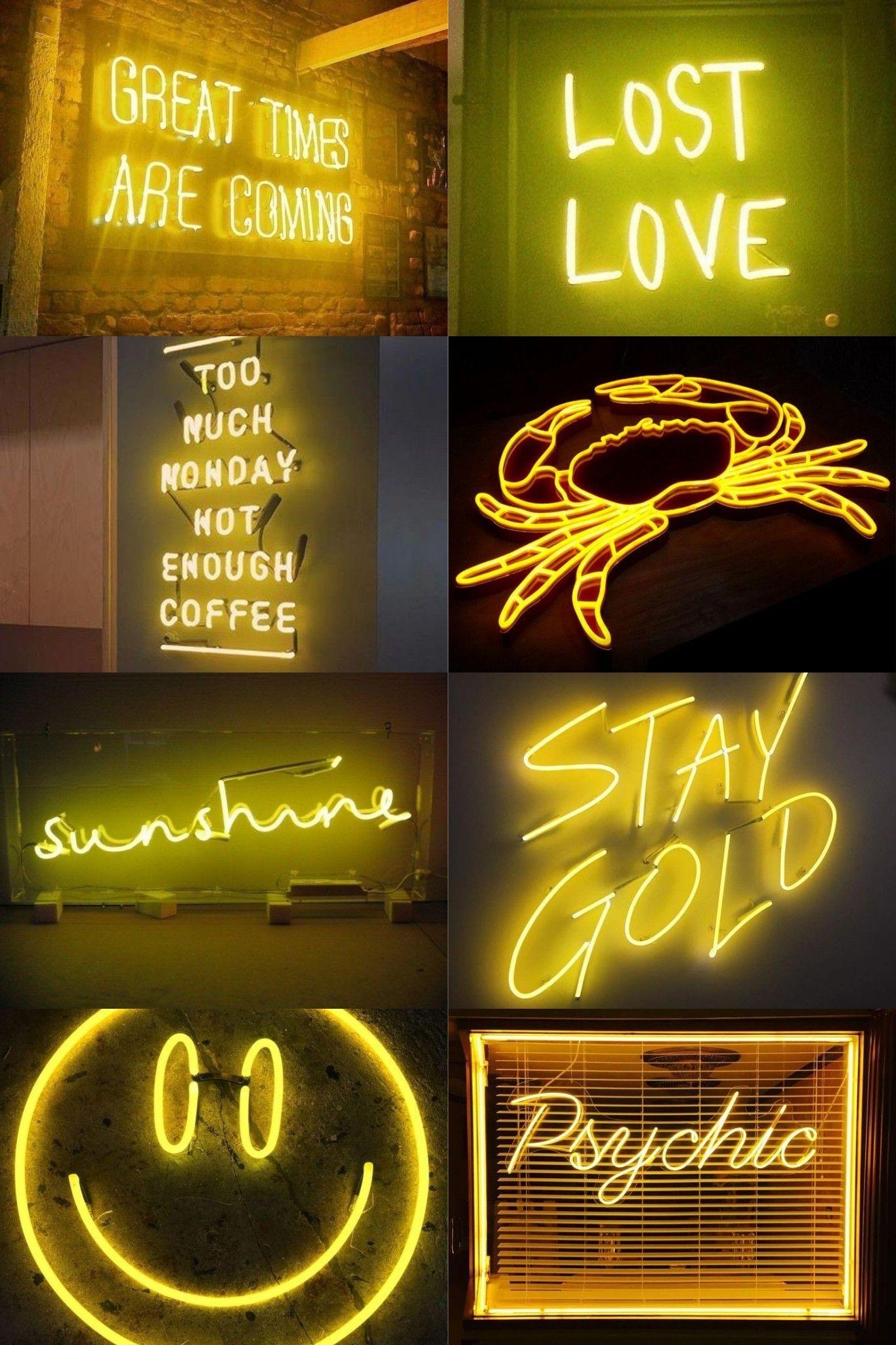 Neon Yellow Wallpaper Iphone Neon Iphone Wallpaper Yellow Yellow Aesthetic Pastel Di 2021 Wallpaper Ponsel