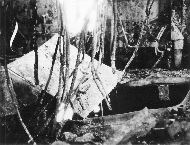 Photo Interior Of Admiral Graf Spee S Forward Superstructure