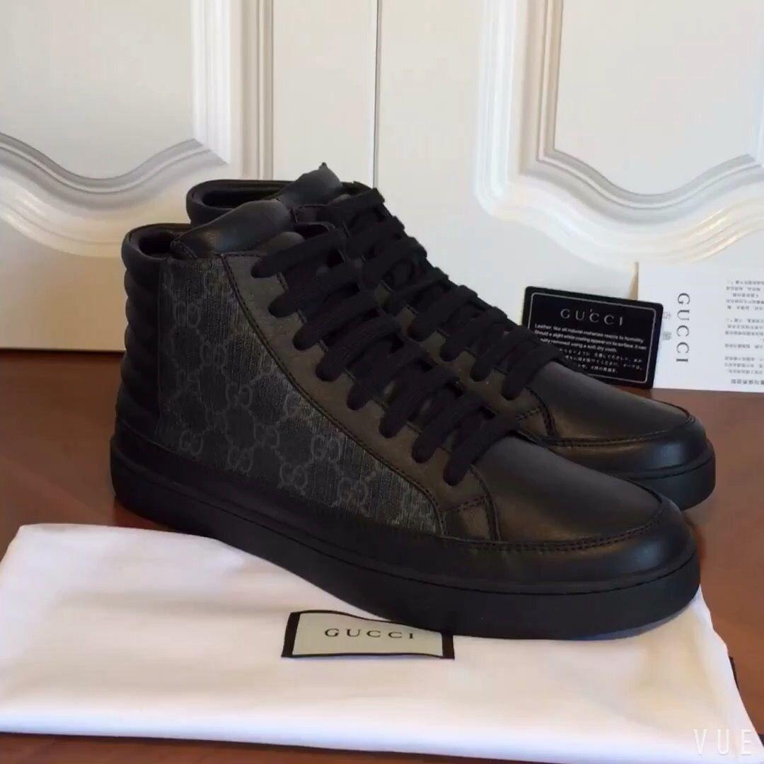 Gucci man shoes high top sneakers  MensFashionEuropean  0ac0baf9f8