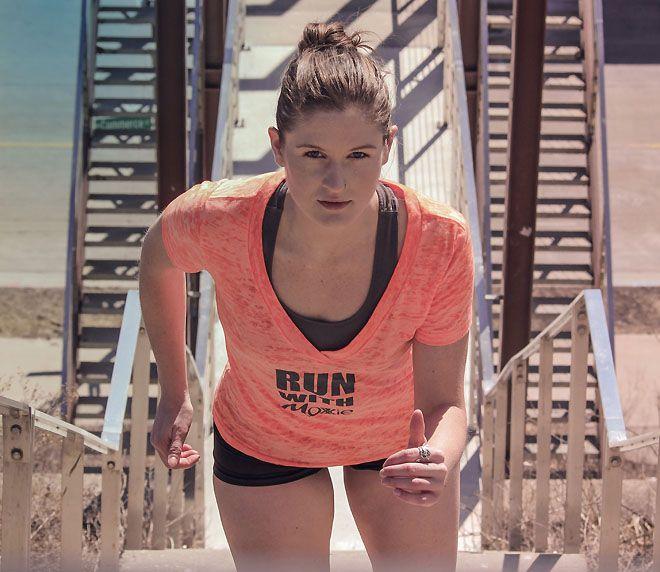 Milwaukee Runner Chellie Degelleke Doubles Up On Ms Challenge Running Volleyball Clubs Milwaukee