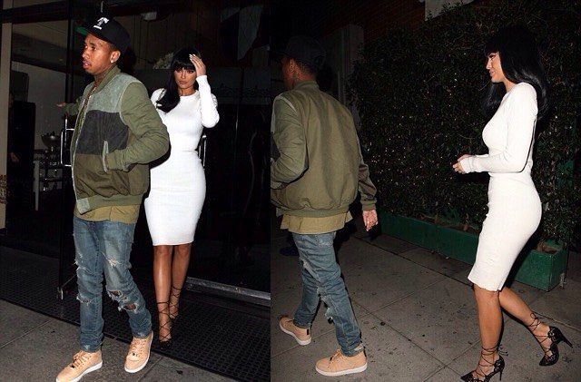Kylie and Tyga out in Beverly Hills last night (October 6, 2015) #kyliejenner #tyga