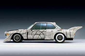 BMW's fabulous art car series. My fave is Frank Stella's.