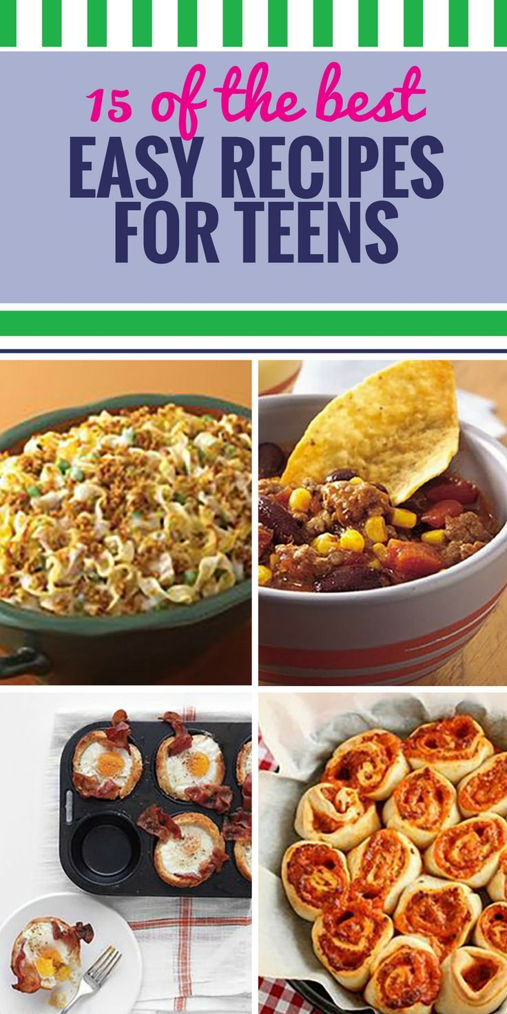15 Easy Recipes for Teens images