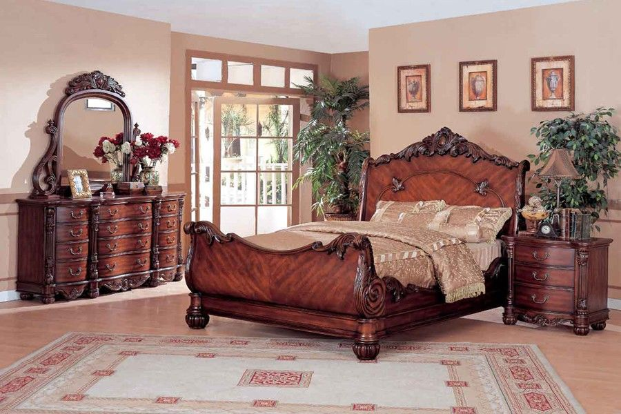 Traditional Furniture Styles | Stingray Traditional Bedroom ...