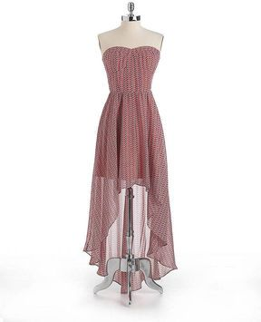 GUESS Strapless Hi-Lo Dress on shopstyle.com