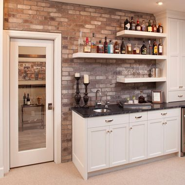 Images Of Corner Wet Bar In Small Area | 6,182 Bar Shelving Minneapolis  Home Design Photos