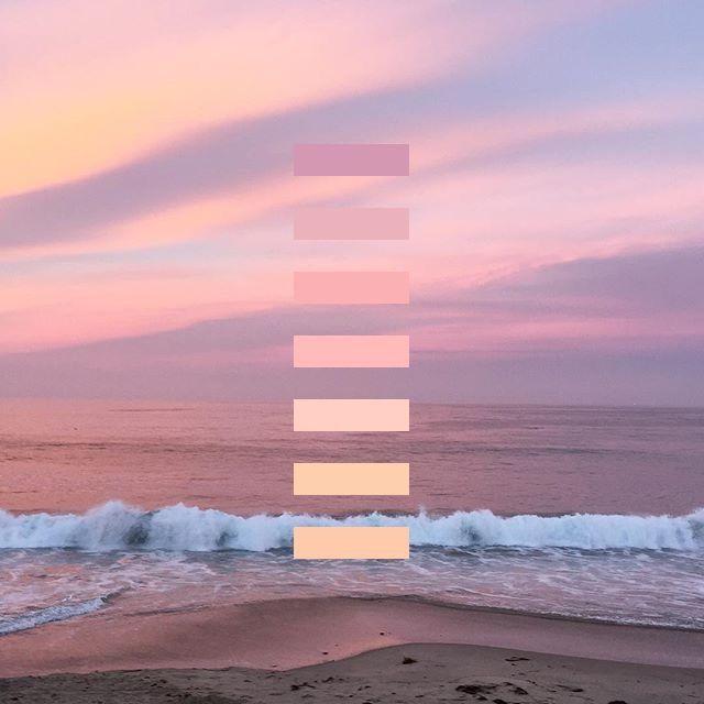 Tumblr ocean background | aesthetic | Palette, Color, Color