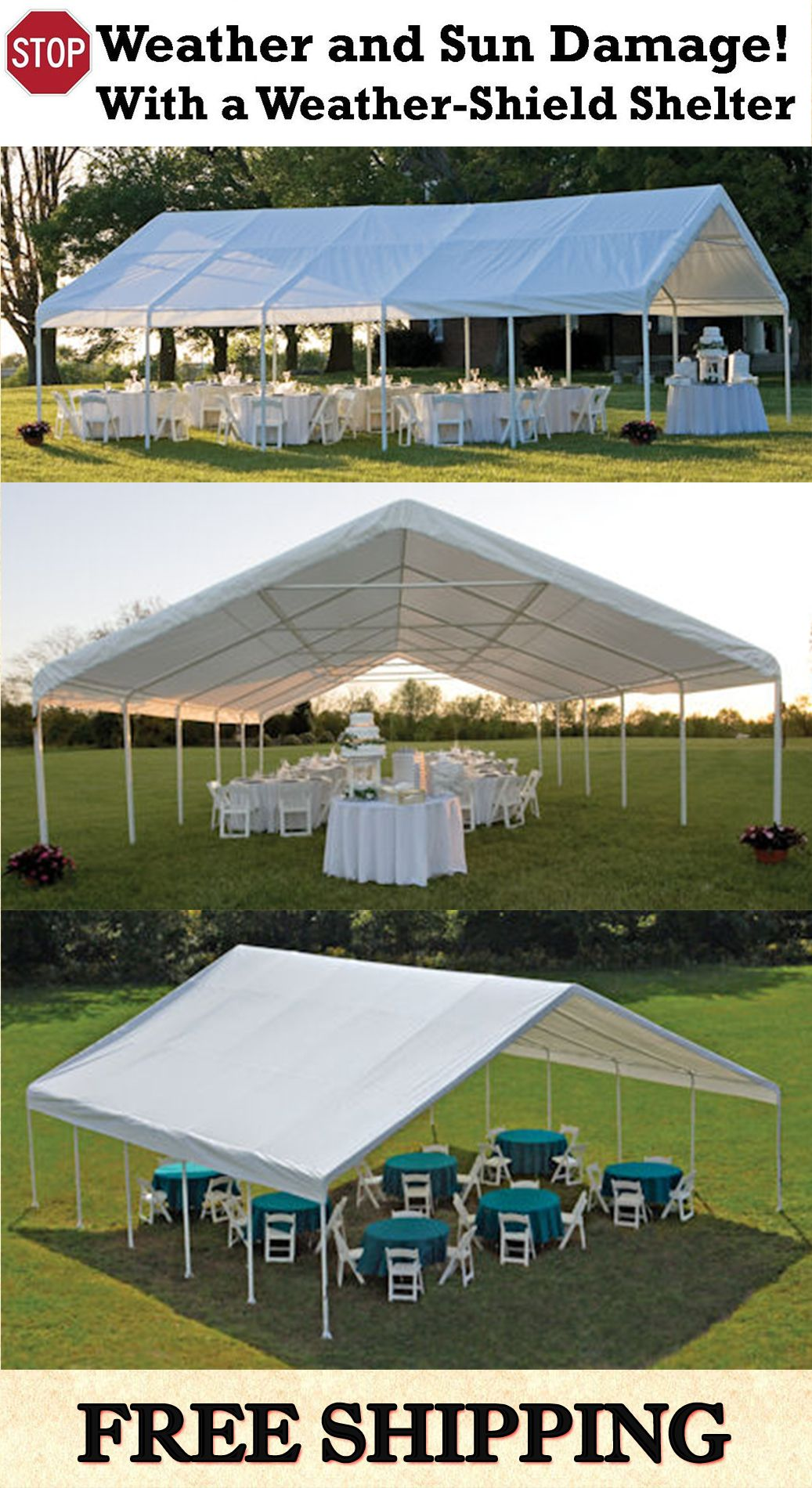 Weather-Shield and Shade Canopies **Heavy Duty Canopy - 30u0027 wide * & Weather-Shield and Shade Canopies **Heavy Duty Canopy - 30u0027 wide ...