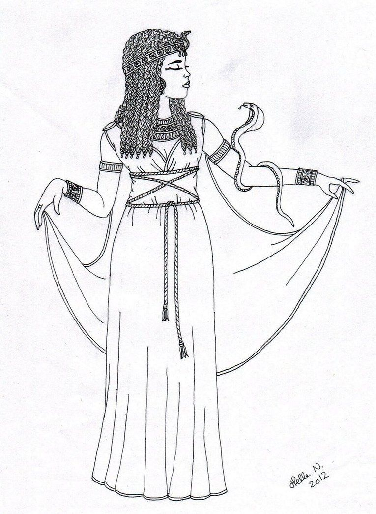 Cleopatra Coloring Pages deviantART