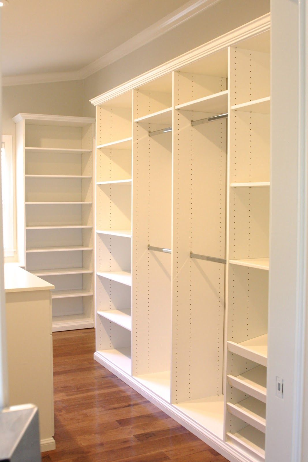 Master Closet Build-Out | Let\'s play house | Pinterest | Wardrobe ...