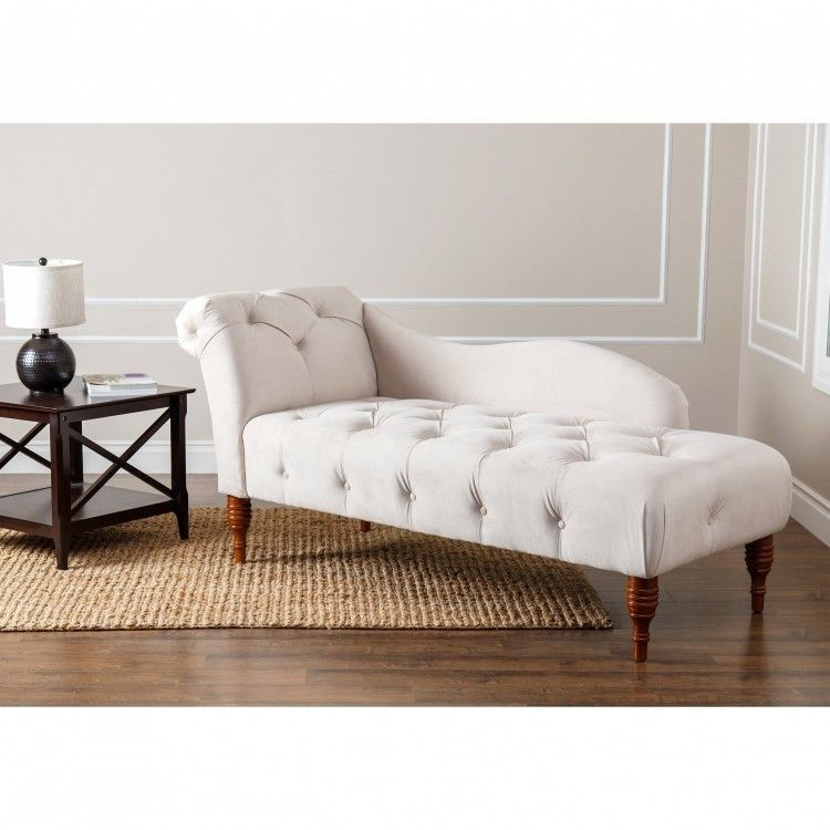 Chaise Lounge Sofa Loveseat Indoor Leisure Couch Tufted Velvet