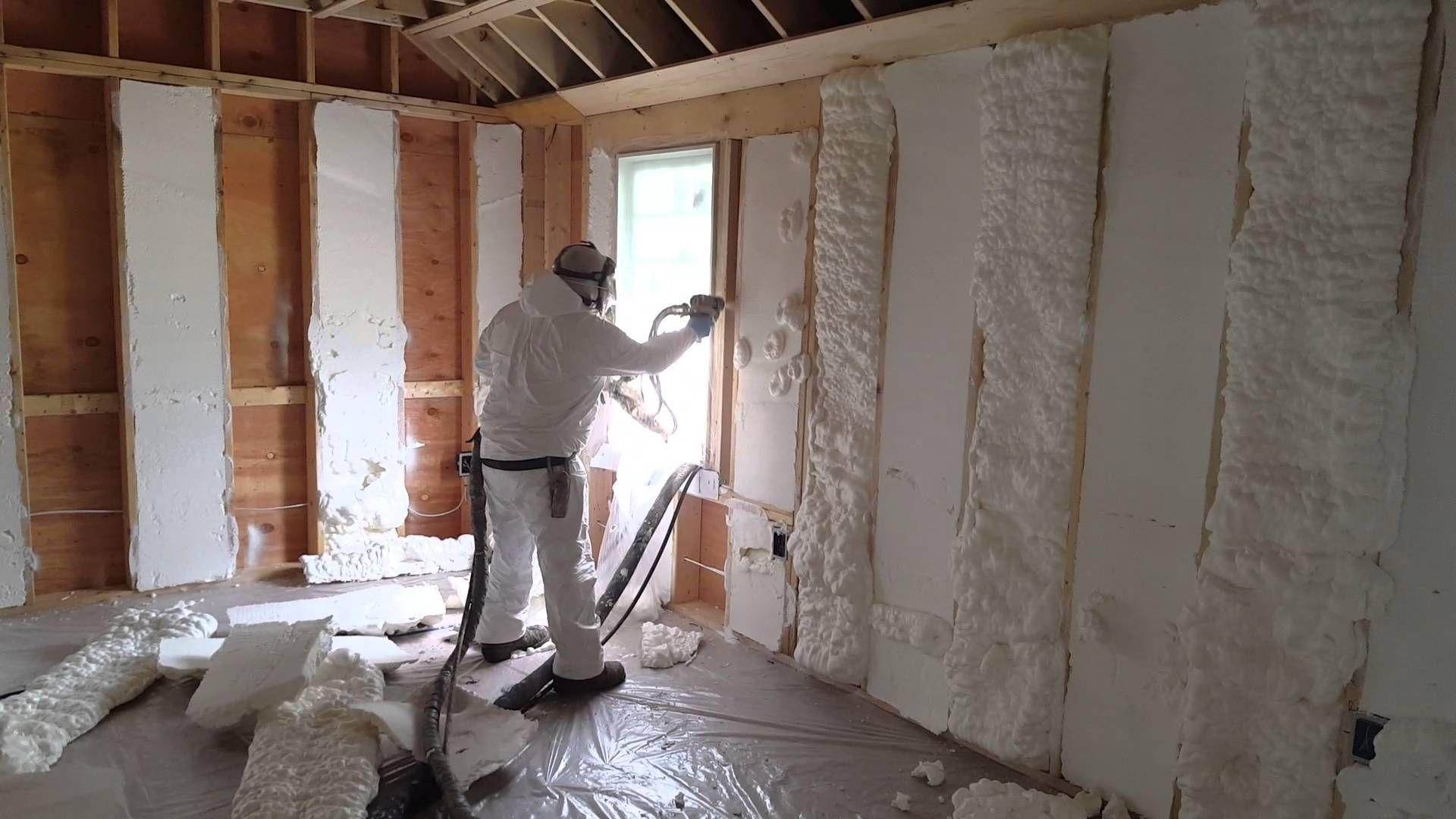 Icynene Open cell foam Project in Boxford MA Installed