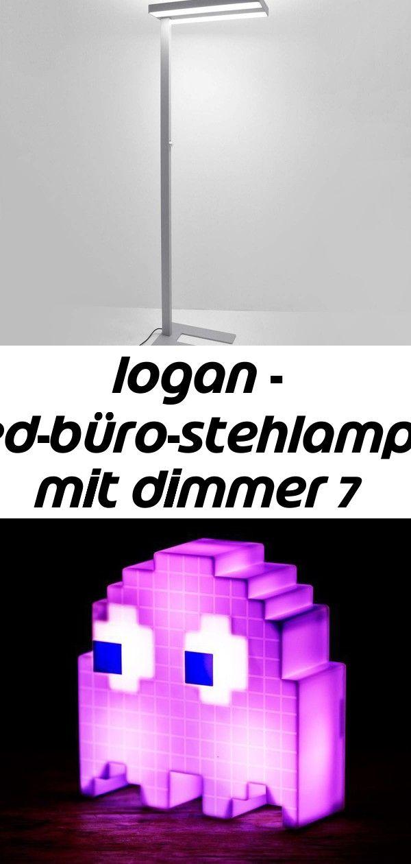 Logan - led-büro-stehlampe mit dimmer 7 #afrikanischerstil