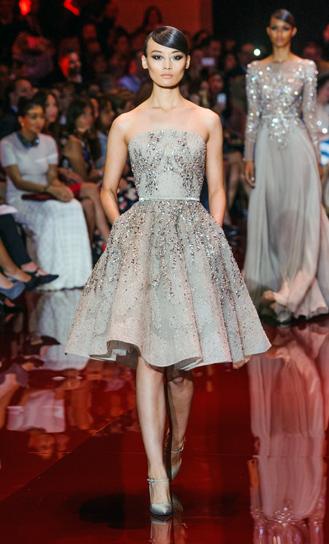 6f0329b6289e Elie Saab   Short Wedding Dress Gowns Couture