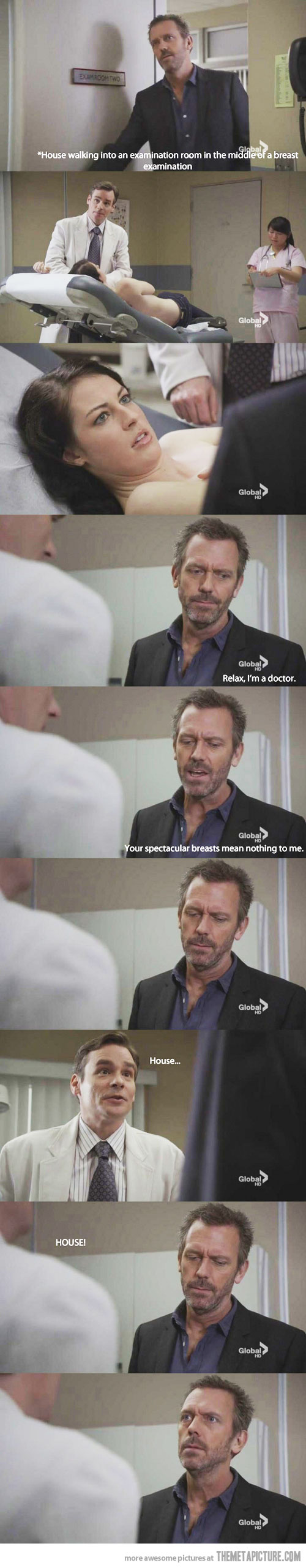 Hahahaha Thanks House | Dr. House | Pinterest | House Quotes, House Md And  House