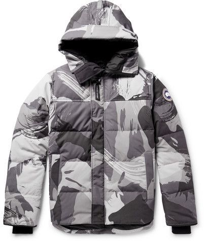e3a8044e0 Canada Goose Macmillan Camouflage-Print Quilted Shell Hooded Down ...