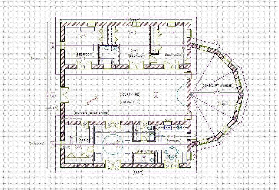 Mediterranean Floor Plans Central Courtyard Courtyard House Plans Mediterranean Floor Plans Courtyard House