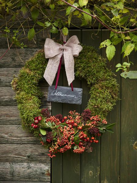 herbstliche deko ideen f r drinnen und drau en wreaths v nce pinterest wreaths xmas and. Black Bedroom Furniture Sets. Home Design Ideas