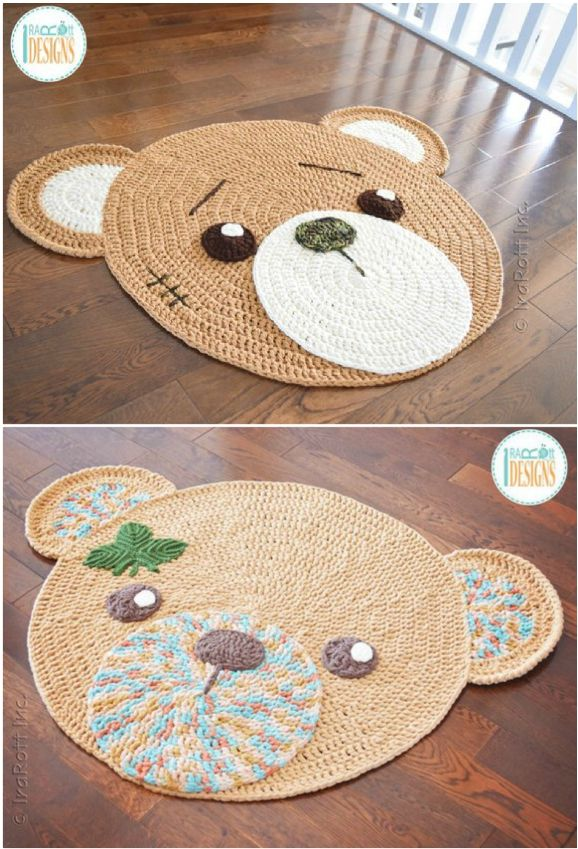 Crochet Animal Rugs By Irarott Etsy Best Ideas Animal Rug Crochet Rug Patterns Crochet Baby Rug