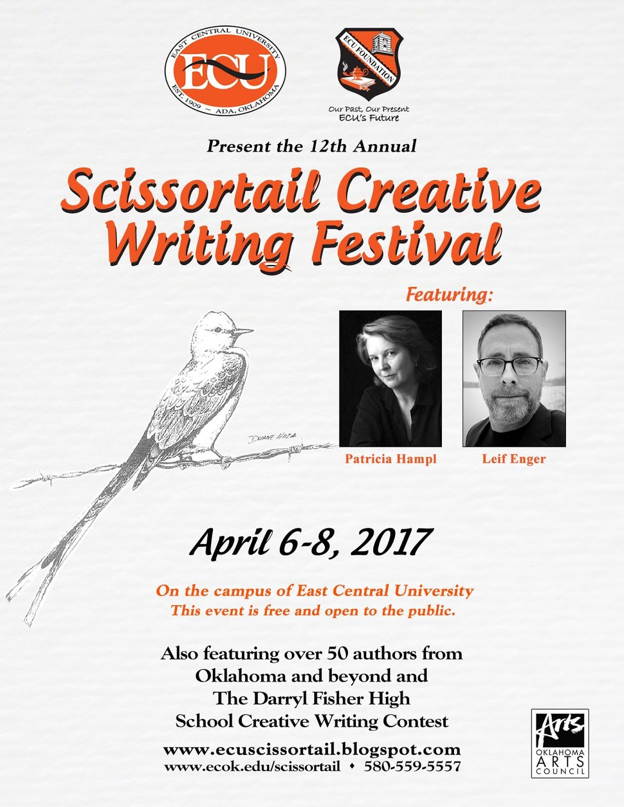 scissortail creative writing festival
